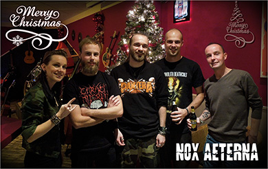 Nox Aeterna wishes you a great X-Mas!