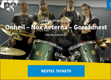 Nox Aeterna @ P3 with Onheil and Gorefunest